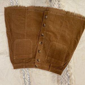 Show Me Your Mumu Corduroy Skirt